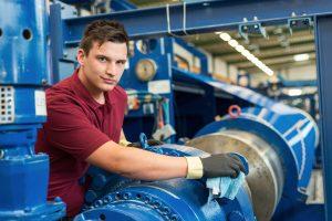 Industriereinigung als Dienstleistung